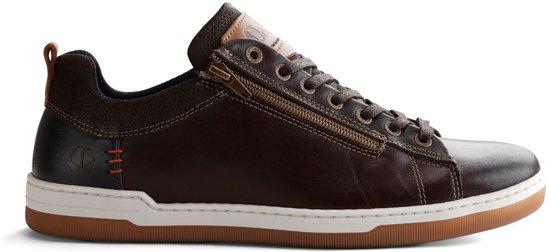 C Sneakers maderno Donkerbruin Maat 42 Heren Nogrz Leren 8dnwI