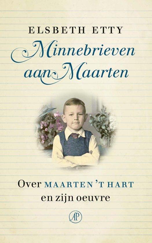 Boek cover Minnebrieven aan Maarten van Elsbeth Etty (Onbekend)