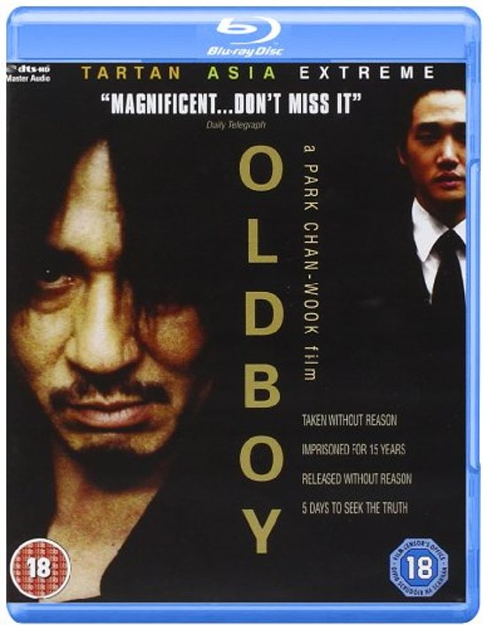 Cover van de film 'Oldboy'