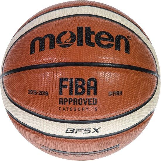 Molten Basketbal GF7X (maat 7) oranje/ivoor/zwart