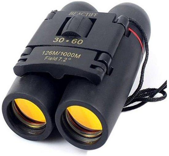 Verrekijker met nachtzicht, vergroting van 30X60, stofbestendig, compact. Tot wel 1000 meter - nightview binocular - telescoop - outdoor (ook voor kinderen en op reis geschikt)