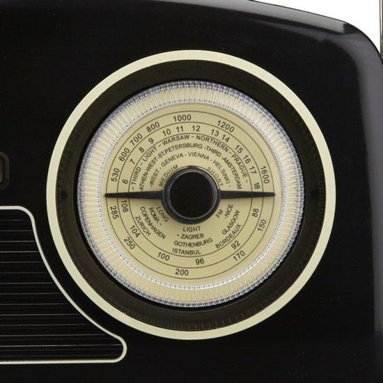 GPO Rydell Wekkerradio DAB+ Zwart