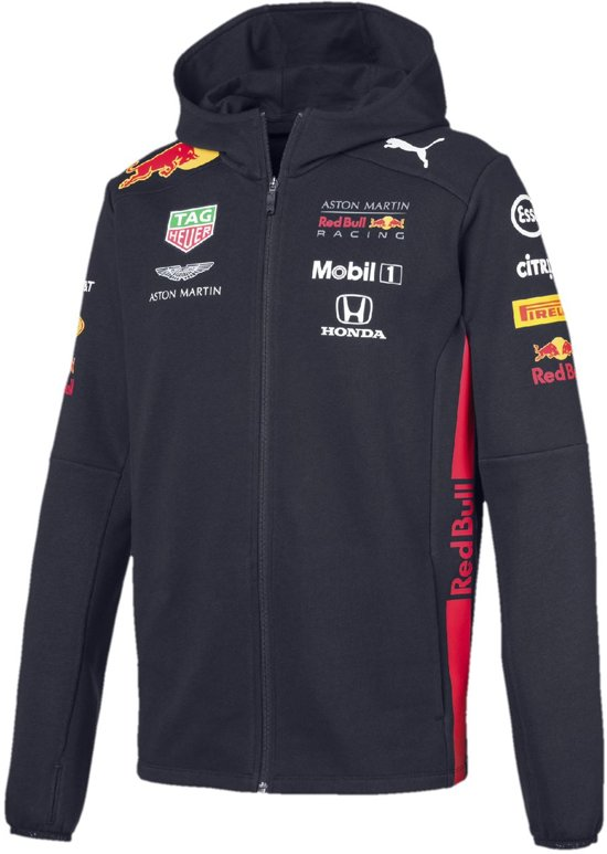 PUMA Red Bull Racing Team Hdd Sweat Jacket Jas Heren - Night Sky