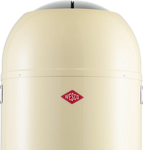 Wesco Kickmaster 33 Liter Bruin.Wesco Kickmaster Pedaalemmer 33 L Amandel