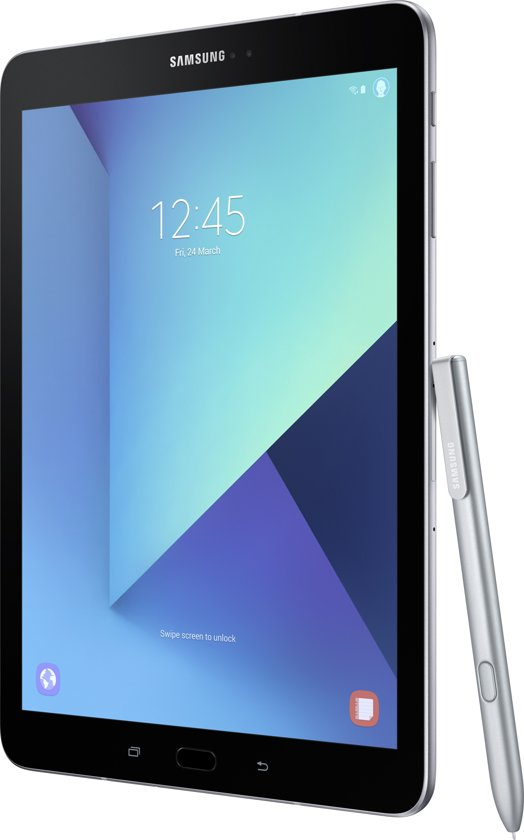 Samsung Galaxy Tab S3 Wifi + 4G Zilver