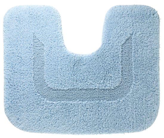 Wc Mat Lichtblauw.Sealskin Cotton Nova Wc Mat 45x60 Cm Blauw