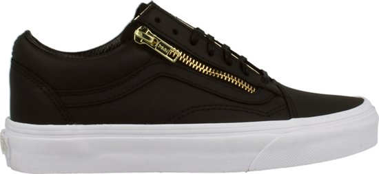 vans old skool zip leer