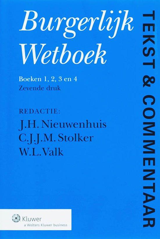 Boek cover Burgerlijk Wetboek van Onbekend (Hardcover)