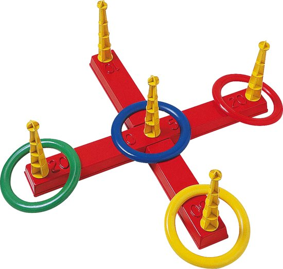 Werpspel met 4 Ringen