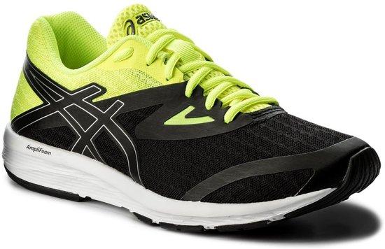 Asics Amplica hardloopschoen Heren Sportschoenen - Maat 44 - Mannen - zwart/geel