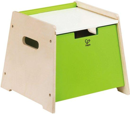 Hape stoel en opbergmeubel in 1 - duurzaam hout