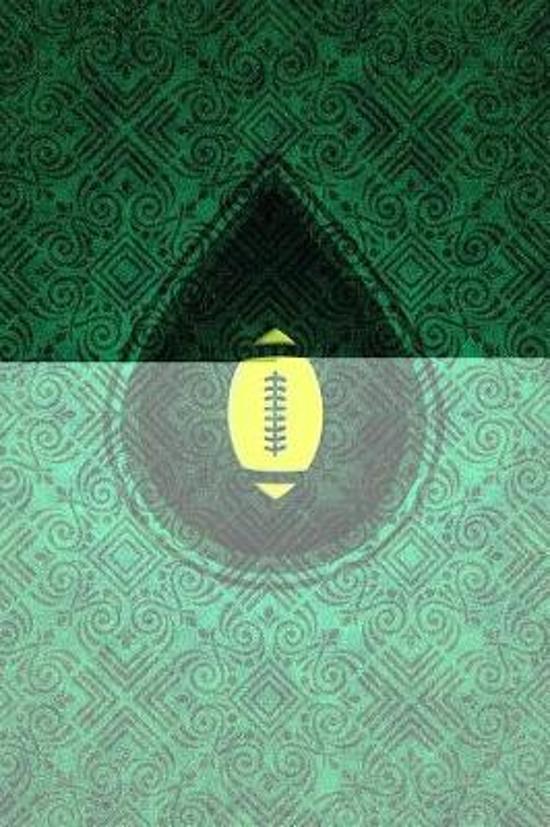Monogram Football, American Notebook