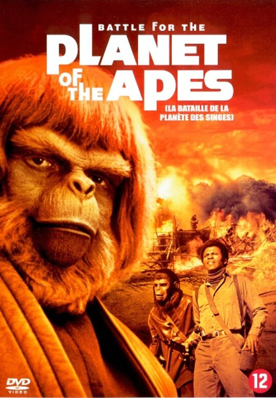 Cover van de film 'Battle For The Planet Of The Apes'