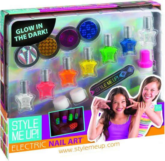 Bol Electric Nail Art Style Me Up Speelgoed