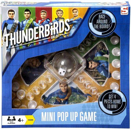 Afbeelding van het spel Thunderbirds Mens erger je niet spel