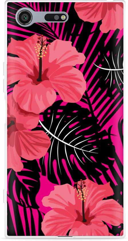 Sony Xperia XZ Premium Hoesje Tropical Flowers