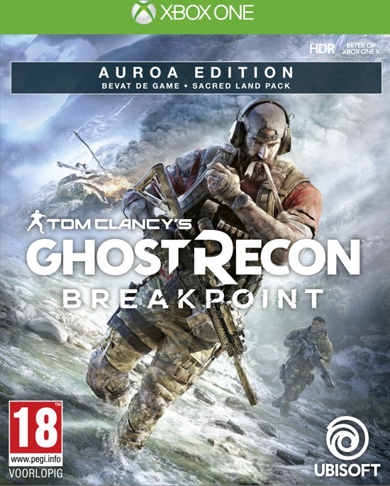 Cover van de game Ghost Recon Breakpoint Auroa Edition - Xbox One