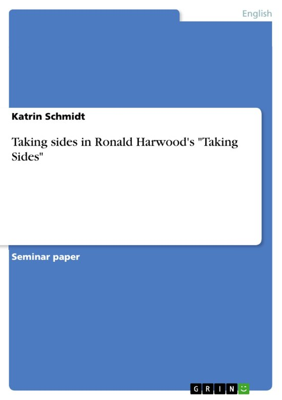 Taking sides in Ronald Harwood's 'Taking Sides'