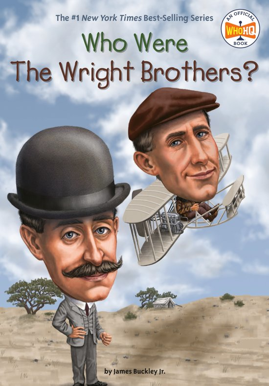 Boek cover Who Were the Wright Brothers? van James Buckley Jr. (Paperback)