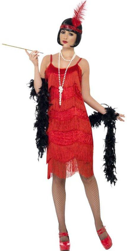 Rode Velours Jurk.Bol Com Rode Flapper Dress Charleston Jurk Rood Maat S 36 38