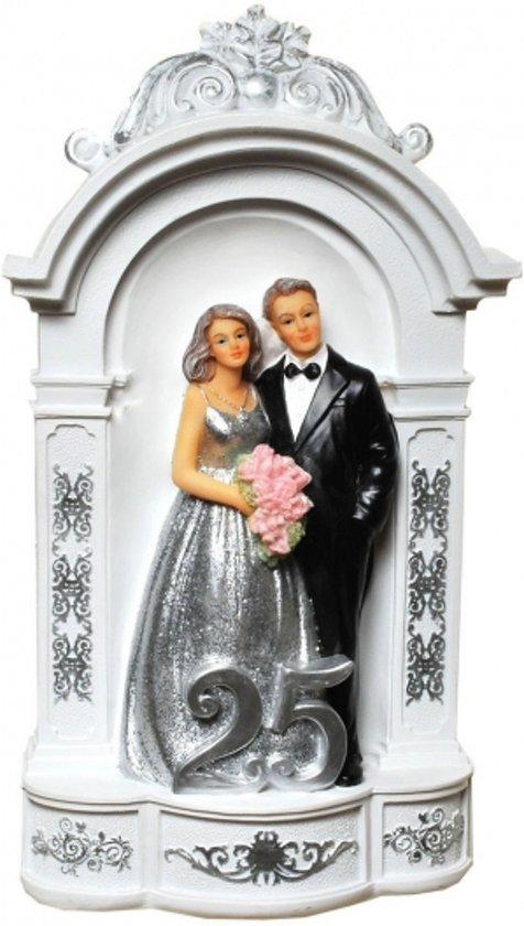 Bol Com Spaarpot Zilveren Huwelijk 25 Jaar Getrouwd