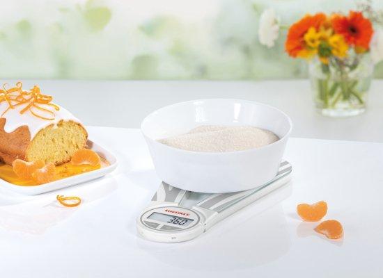 Soehnle - Digitale Keukenweegschaal - Genio - grijs - 66227
