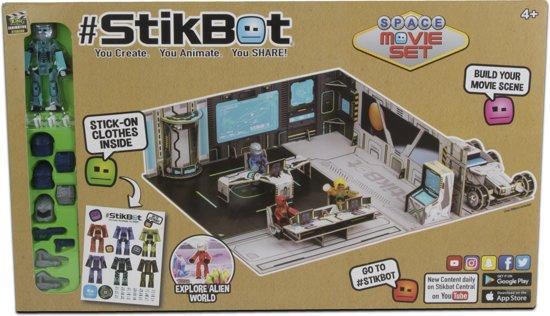 Afbeelding van het spel Stikbot Movie Set Space