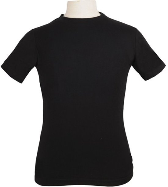 T-Shirt men zwart XL