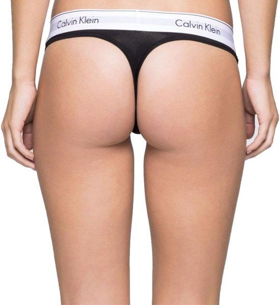Thong Onderbroek Cotton VrouwenZwart Ck Calvin Klein Modern hCxdstrQ