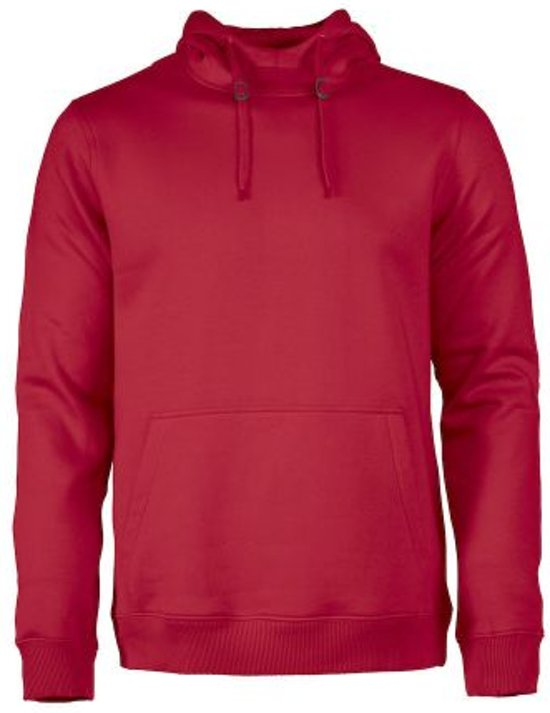 Printer Fastpitch hooded sweater RSX Red 4XL
