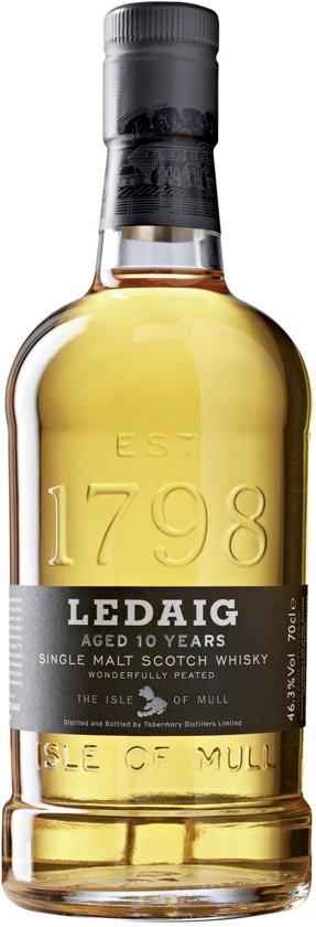 Ledaig 10 Year Whisky  - 70 cl