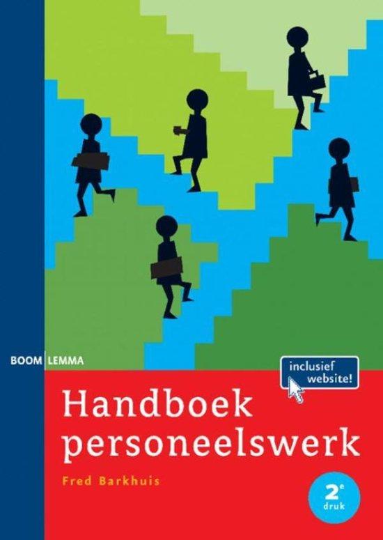 Bronnenboeken MBO Handboek personeelswerk
