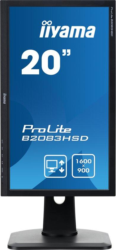 Iiyama ProLite B2083HSD-B1 - Monitor