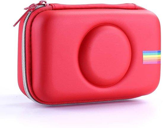 e258a8cd353 Camera Tas EVA Shockproof Camera Opbergtas voor Polaroid Snap Touch (Rood)