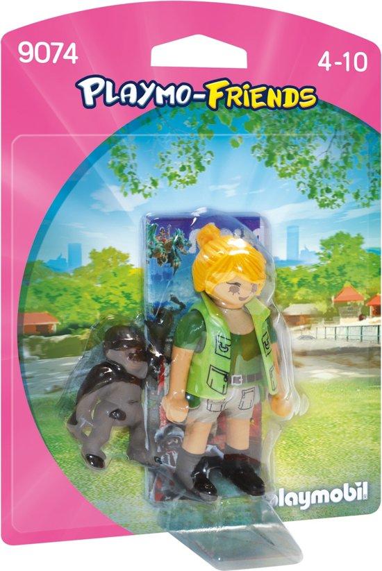 Playmobil Playmo-friends: Dierenverzorger Met Gorilla (9074)