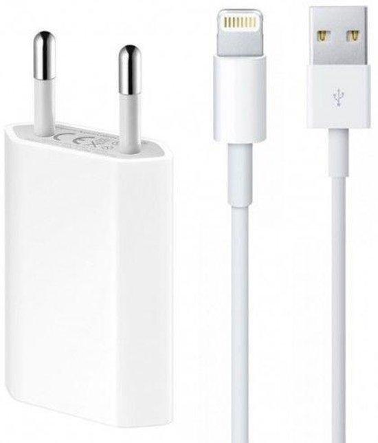 Oplader Apple inclusief  Lightning usb kabel 2 meter - 5 Watt