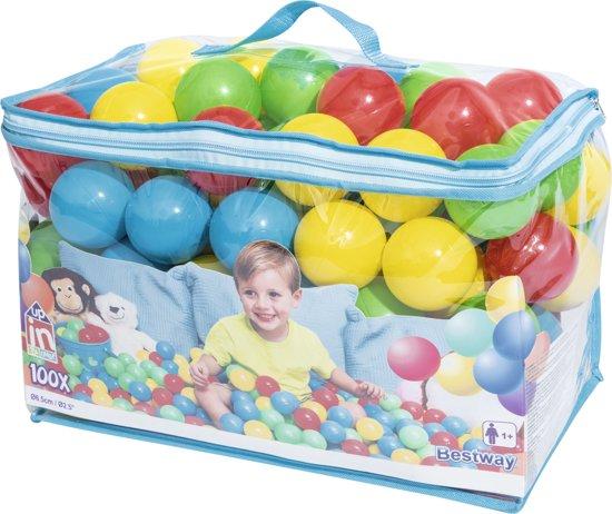 Bestway ballenbakballen 100 stuks