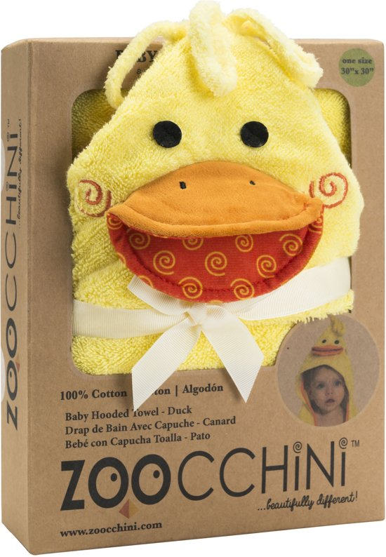 Zoocchini - badcape - Puddles the Duck