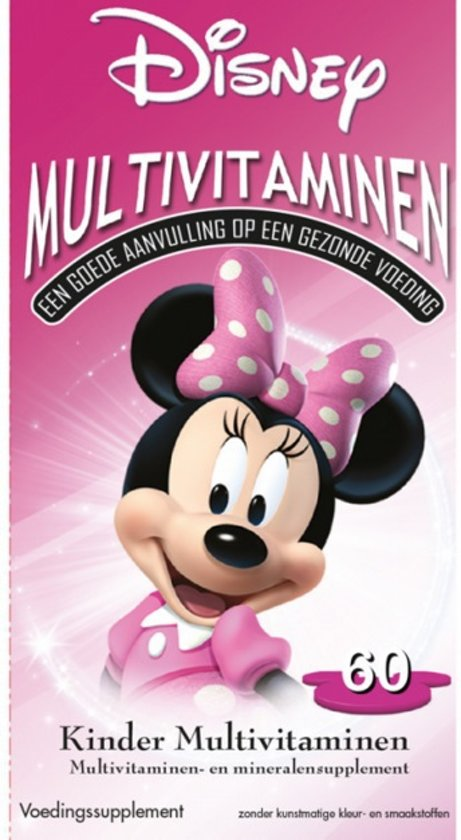 DISNEY MULTIVIT GUMMIES MINNIE