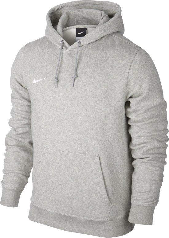 e30861320e6 bol.com | Nike Team Club Hooded Sporttrui - Maat L - Mannen - grijs