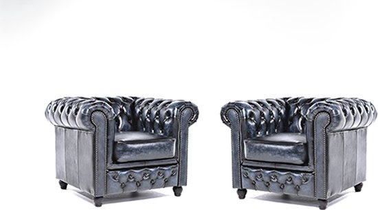 The original chesterfield brighton 1 1 for Fauteuil original salon