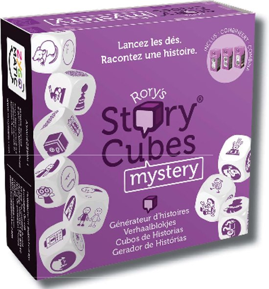 Rory's Story Cubes Mystery - Dobbelspel