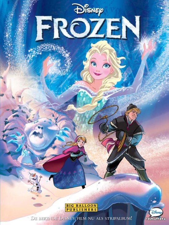 Boek cover Frozen Filmstrip van  (Hardcover)