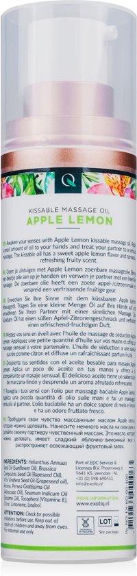 Exotiq Massageolie Apple Lemon - 100 ml
