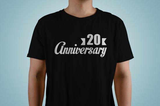 20 Jaar Getrouwd Jubileum Trouwdag Viering 50 Jaar Samen T Shirt Kado Cadeau Tip Voor Mannen En Vrouwen Unisex Maat Xs