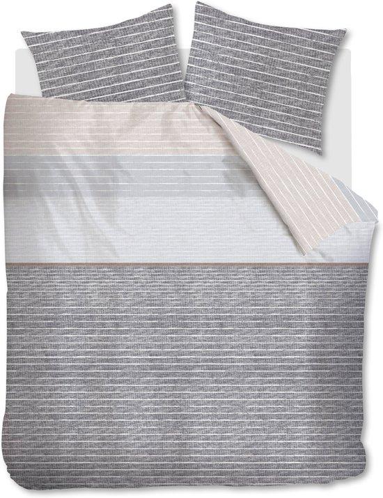 Beddinghouse Chalk - Dekbedovertrek - Lits-jumeaux - 240x200/220 cm + 2 kussenslopen 60x70 cm - Sand