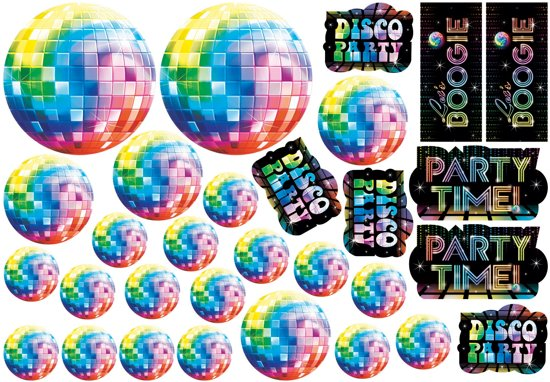 30 Cutouts Disco Fever 70 s