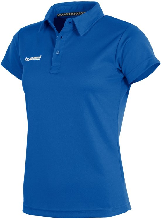 hummel Authentic Corporate Climatec Polo Ladies Sportpolo Dames - Royal
