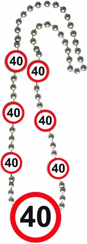 Ketting 40 Jaar Verkeersbord
