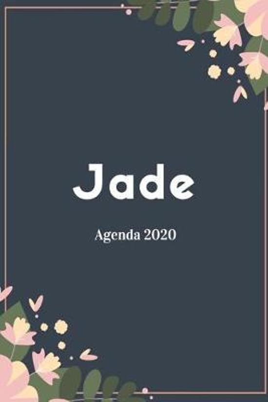 Calendrier Agenda 2020.Jade Agenda 2020 Semainier Hebdomadaire Mensuel Et Calendrier Pour 12 Mois Journalier A5 I Planificateur Annuel Et Agenda De Poche Pou